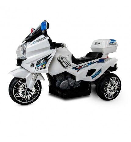 Motor dziecięcy na akumulator HERO biały