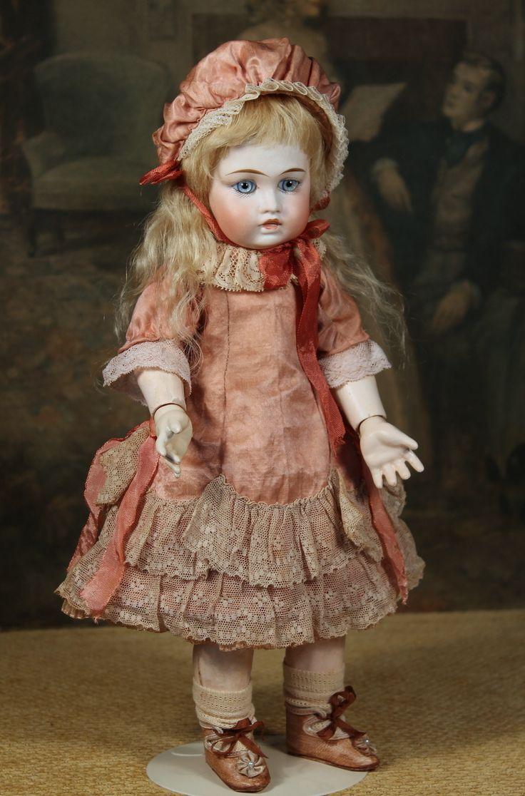 "14"" Sonneberg Doll ~ Look-Alike Circle Dot Bru Bebe from signaturedolls on Ruby Lane"