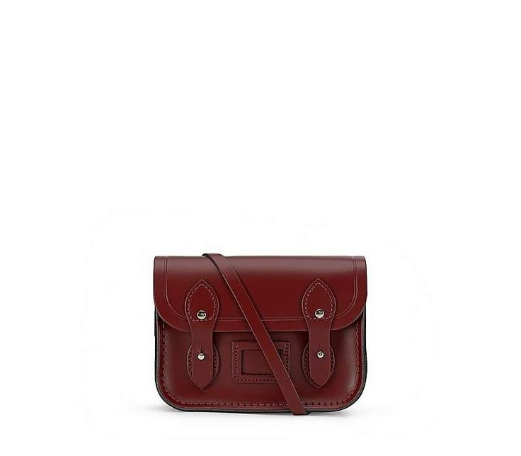 The Tiny Satchel in Leather