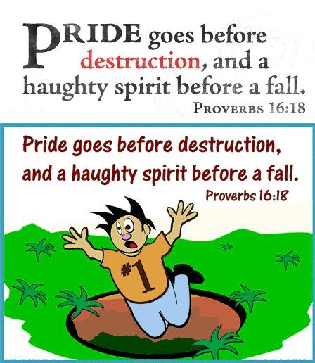 speech on pride has its fall Fourth hadith: pride and when its effects are reflected in his behavior and his speech, it is as his wrath will subdue the contender and he will fall on his.