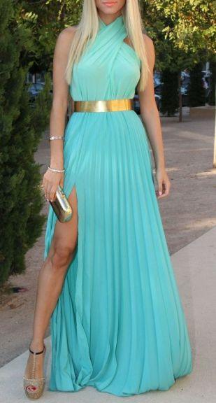 Elegant blue #dress, love it!!