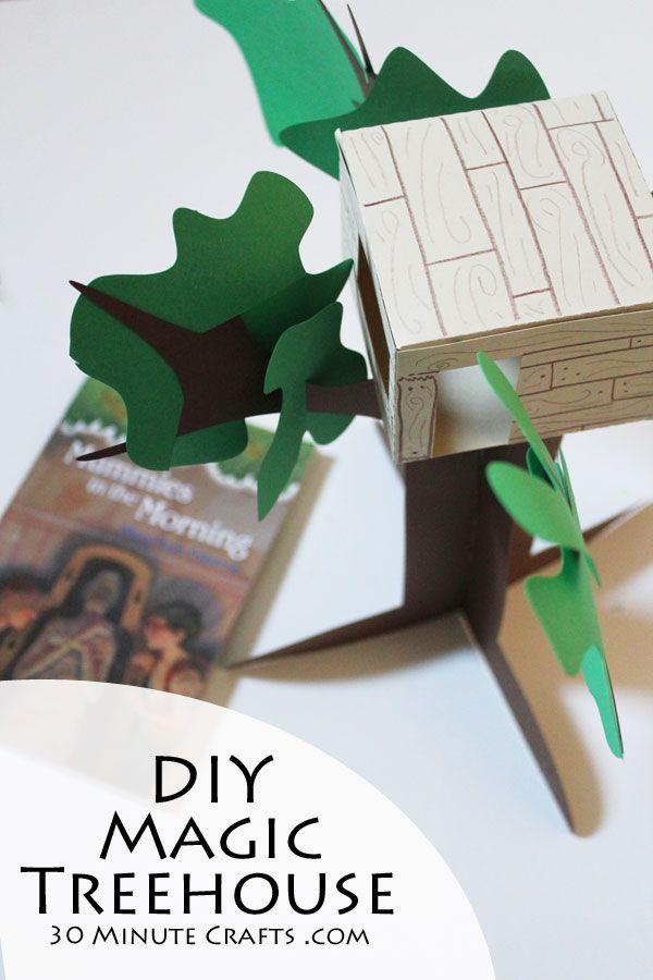Magic Treehouse Craft                                                                                                                                                                                 More