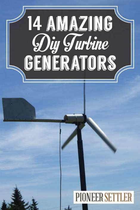 14 Coolest Generators To Make For Living Off The Grid