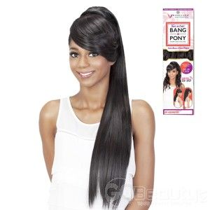 VIVICA FOX SYNTHETIC HAIR DRAWSTRING PONYTAIL TWO IN ONE BANG & PONY BP-FENDY