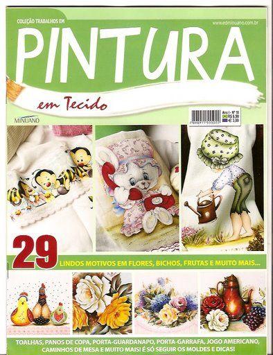 Pintura em Tecido ano 01 nº 10 - ADRIANA MOURA - Picasa Web Albums..