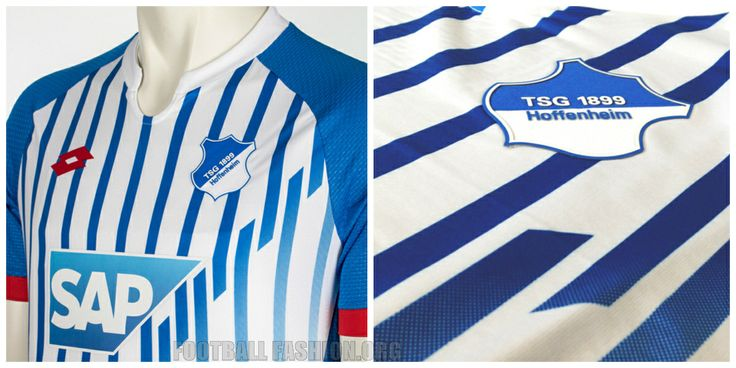 TSG 1899 Hoffenheim 2015 2016 Lotto Sport Home Football Kit