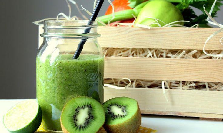 Zelené smoothie s řapíkatým celerem