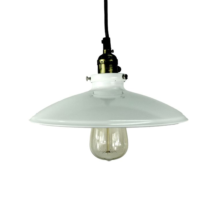 PAUL white enamel pendant light. Great for living room lighting or kitchen bench lighting.   Australia's leading independent lighting specialist for industrial, modern and Scandivian style pendants.  Affordable, industrial style pendant lighting for your home, delivered Australia-wide. Lighting from $69. Shop now. www.mercuryduck.com.au