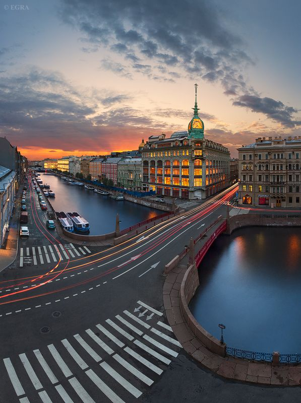 EGRA - Петербург : лето с крыш...