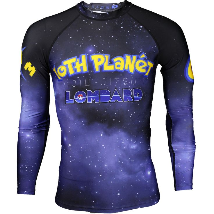 Listed Price: $42.99 Brand: Hypnotik The elaborate design in Hypnotik 10th Planet Lombard Poke Rashguard is a collaboration with the��_