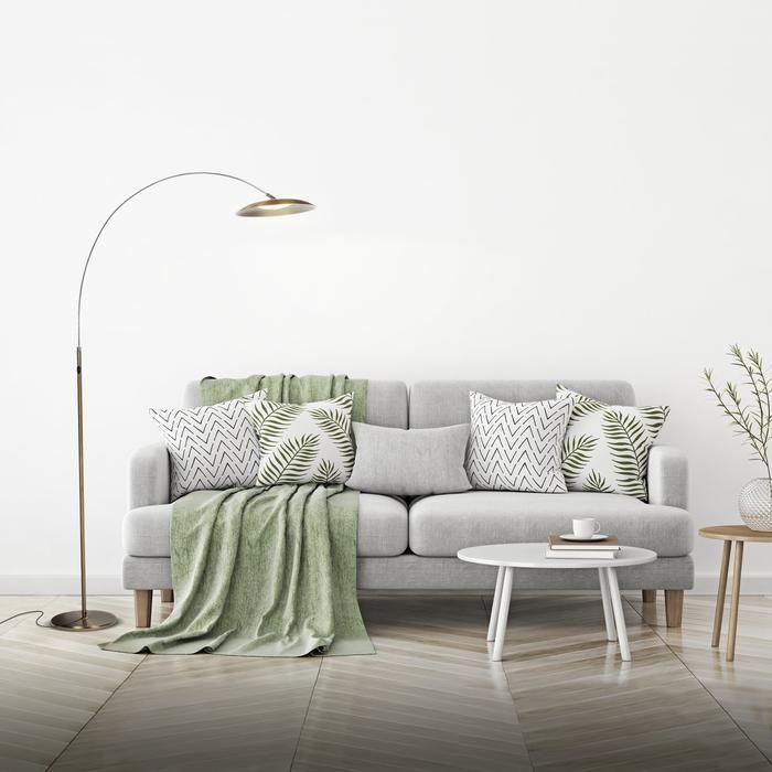 Terrific Atlas Arc Led Floor Lamp Behind The Sofa Light Living Download Free Architecture Designs Jebrpmadebymaigaardcom
