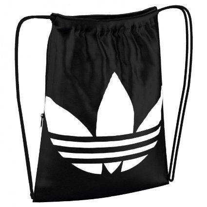 adidas Turnbeutel GYMSACK TREFOIL black/white One size