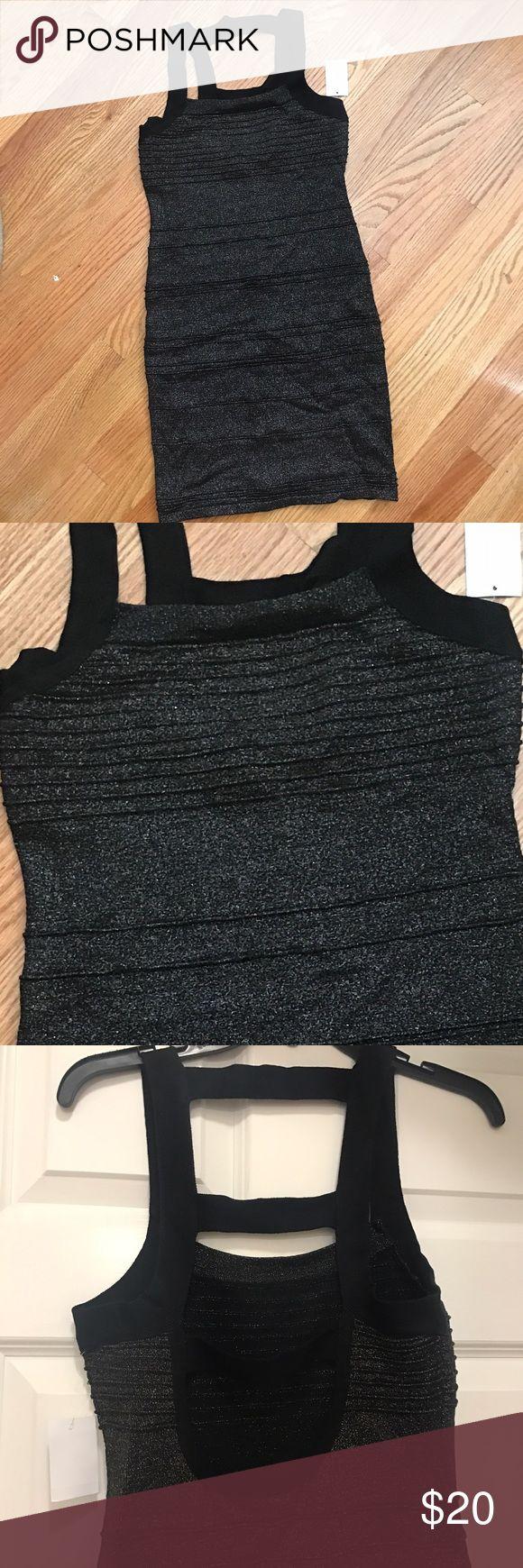 Sparkly Bandage Dress Charlotte Russe NWT Sparkly Bandage Dress Charlotte Rouse NWT Charlotte Russe Dresses