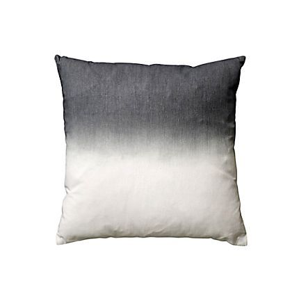 Bloomingville dip dye pillow grey (45x45cm)