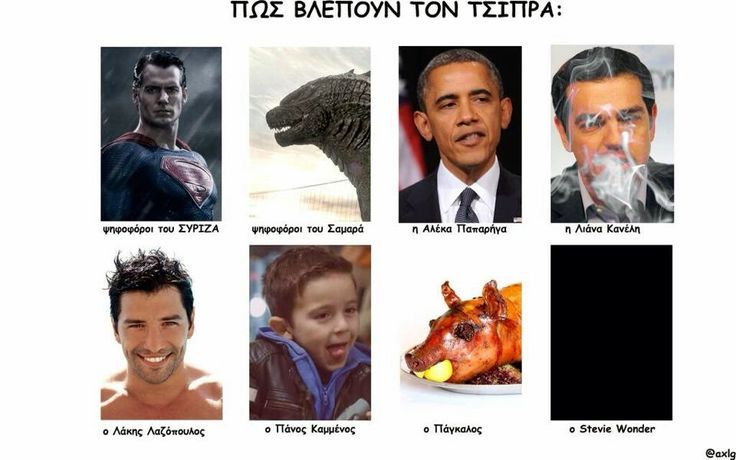 Food  For Thought: Πως βλέπουν τον Τσίπρα