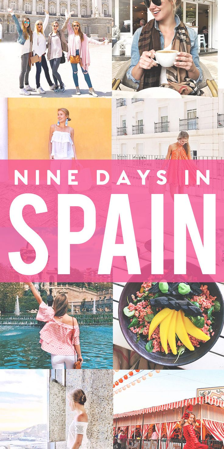spain travel guide | travel tips for Spain | Spain travel tips | what to do and see in Spain | traveling to Spain | traveling abroad || a lonestar state of southern