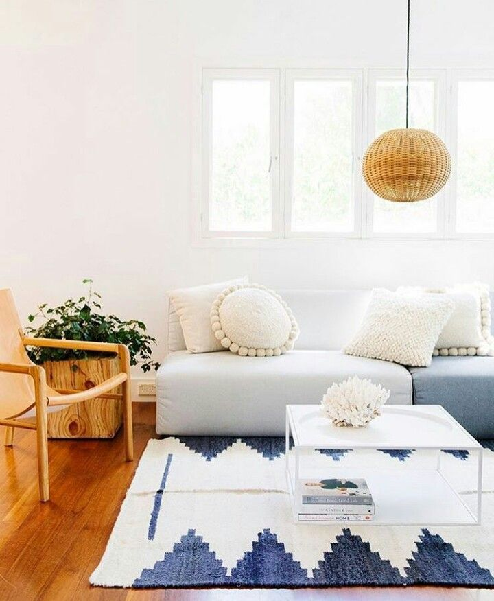 Learn how to use white without transform your home into a boring place