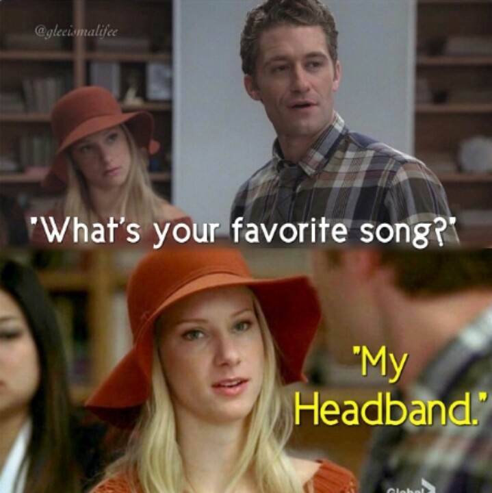 Hahaha this was so funny! Oh Brittany.... Gotta watch Glee to get it!