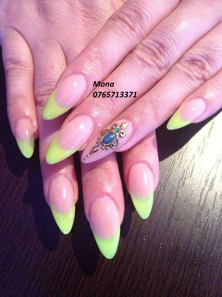 Nail Art Liquid Stone UV Gel