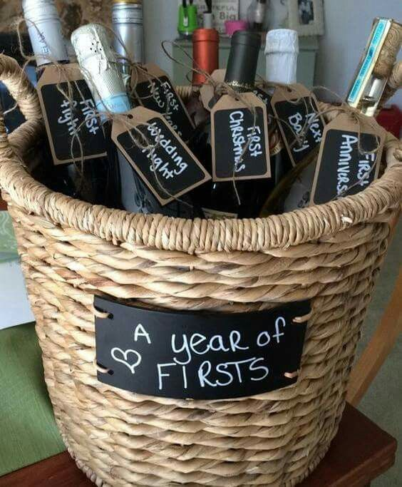 Wedding shower gift. ..