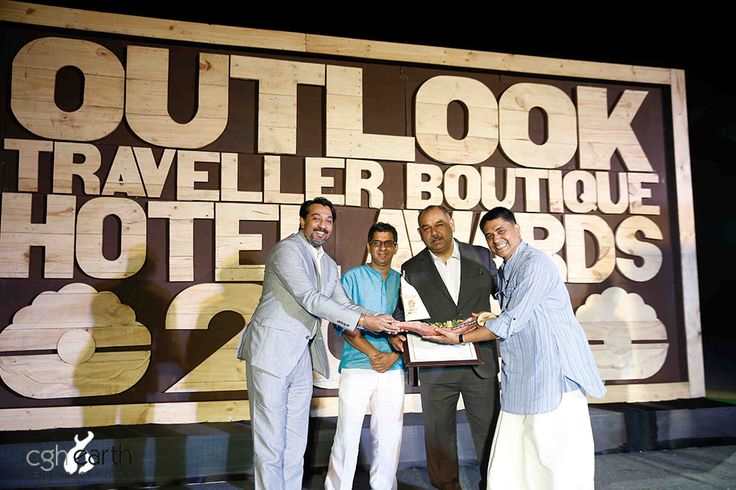 We are proud to announce that #CGHEarth has been awarded the  Outlook Traveller Boutique Hotel Award in the Best Responsible Hotel category. These awards are the first initiative taken by any travel magazine in India towards honouring luxury boutique hotels. The CGH Earth family is humbled by this recognition.