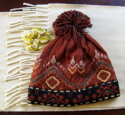 Butterscotch Lined Hat, $30.00