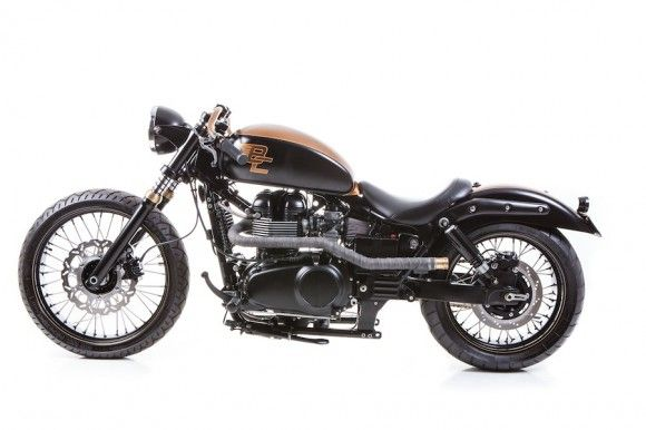 Custom Triumph Speedmaster - Vintage Vendetta By British Customs