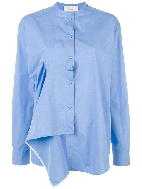 Ports 1961 asymmetric shirt
