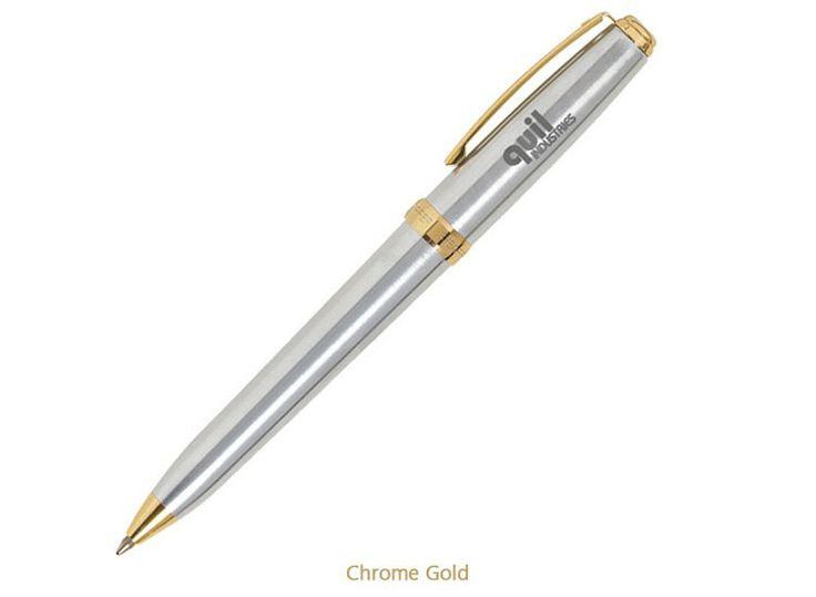 Sheaffer Prelude Chrome / Gold - Ballpoint
