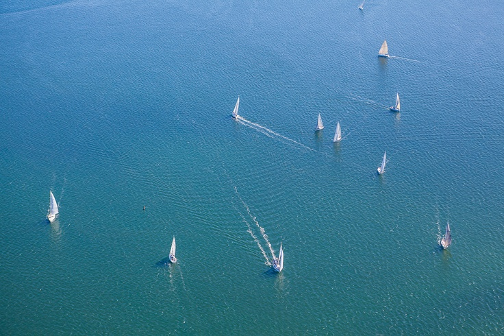 yachts enjoying the sunshine in Mornington, Victoria.