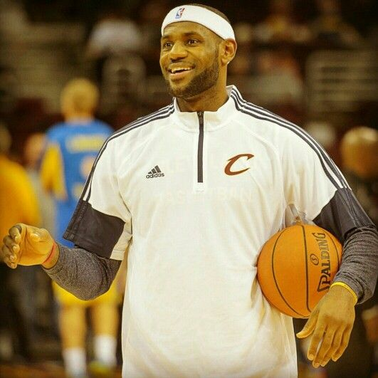 In honor of his 30th bday... 30 pics of King James.