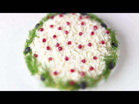 """САЛАТ """" СКАЗКА""""/ Простой слоеный салат от VIKKAvideo - YouTube"""