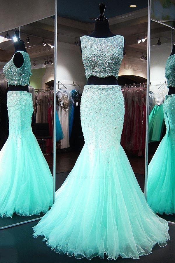 Light Prom Dresses Mermaid 355160459dab