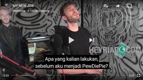 Cara Menampilkan Subtitle di Youtube Android