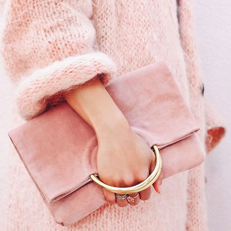 NEW! The Las Salinas Suede Clutch in Ibiza Sunset