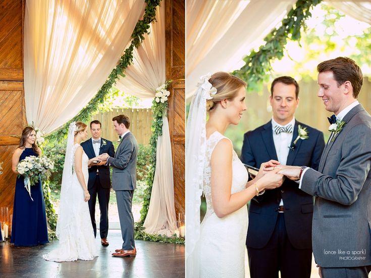 The Foundry at Puritan Mill Wedding :: Meagan + Brandon :: with Tyler » (Once Like a Spark) Photography | Atlanta Wedding | Wedding Ceremony