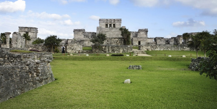 Tulum Ruins at Riveira Maya