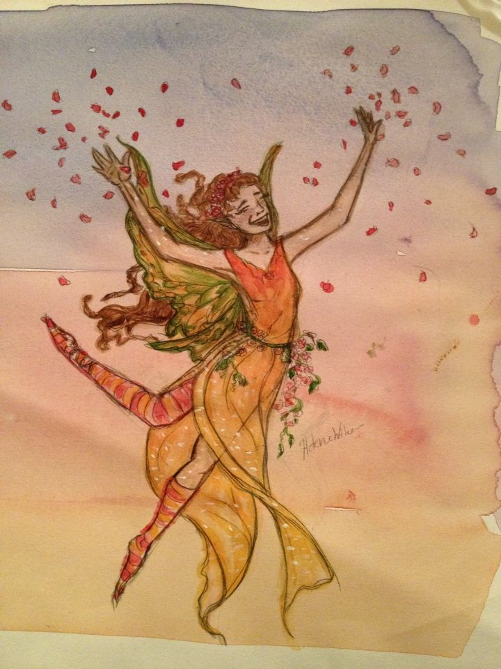 My happy fairy! Helene w