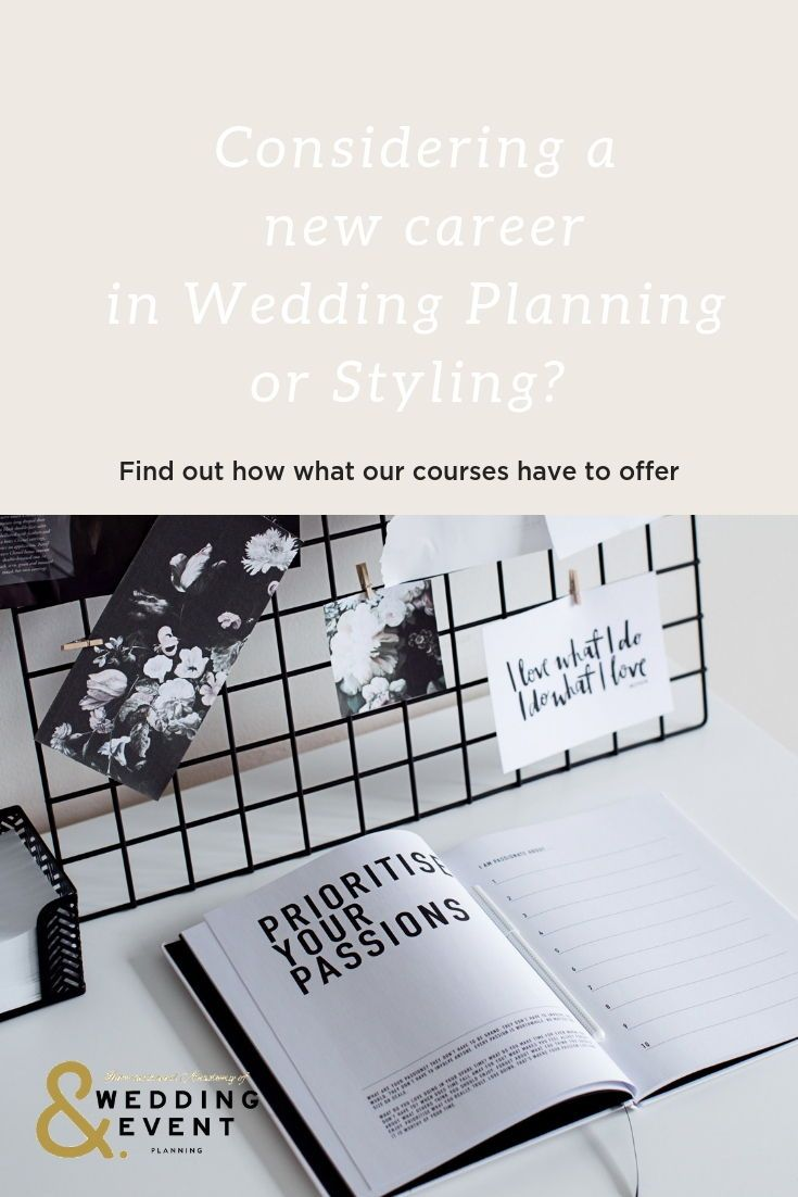 The International Academy Of Wedding Event Planning Is The Global Home Of 7 Online Campuses Wedding Planner Career Wedding Event Planning Wedding Planner Job