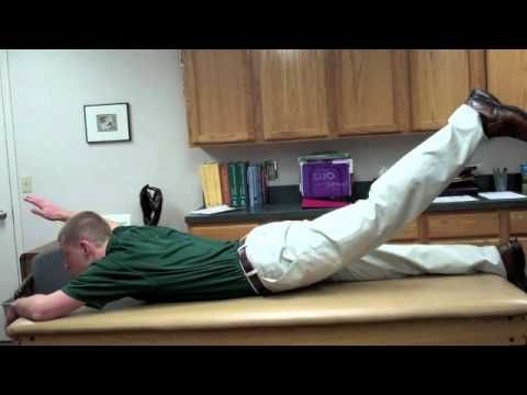 Ejercicios para fortalecer la espalda baja en casa | ZeroPanza.com