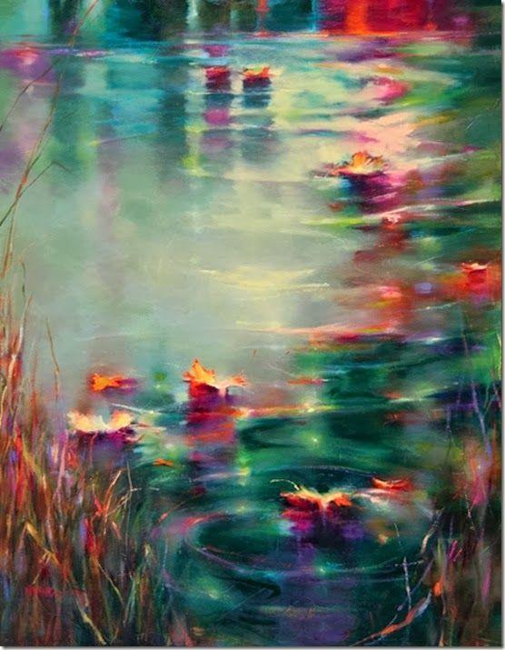 Por Amor al Arte: Donna Young Sentir en color