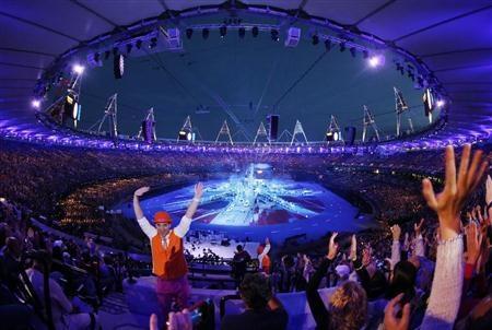【ロンドン五輪】ビッグベンの鐘で閉会式始まる