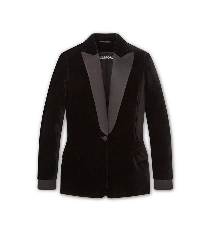 VELVET LAPEL TUXEDO JACKET | Shop Tom Ford Online Store