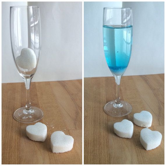 Champagne Gender Reveal Sweethearts The by jojobeandesigns on Etsy