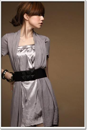 【納期4日】カーデ一体型ミニドレスワンピースグレー白結婚式パーティ二次会 - 記念日・デート・結婚式・パーティファッション『Anniversary Style』アニバーサリースタイル ブーツ・ドレス通販