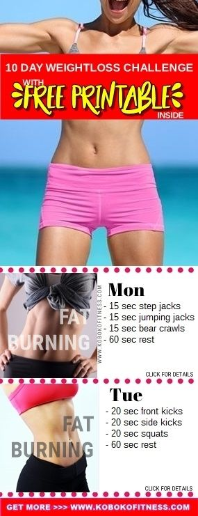 You have discovered the BEST 10 day weight loss challenge. Beginner friendly, fat burning, and fast workouts you can do at home. Combine with healthy eating and a healthy lifestyle to lose weight the best way