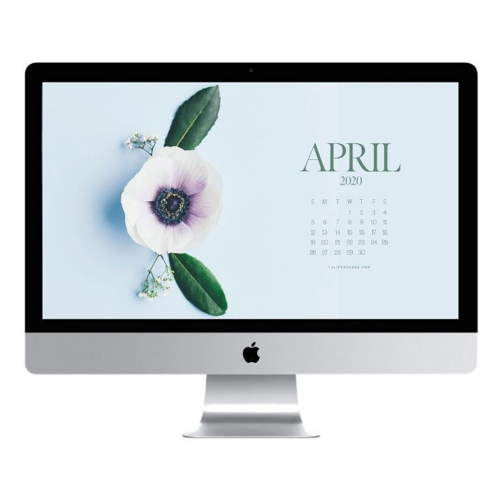 April 2020 Desktop Wallpaper Freebie Wallpaper Desktop Wallpaper Cool Desktop