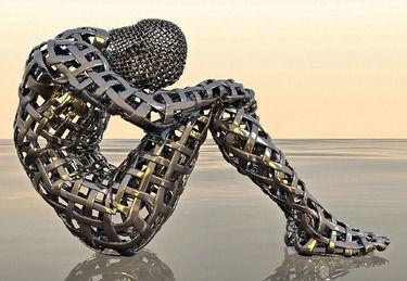 """Grégoire A Meyer; New Media Art, """"Reflection"""" #art"""