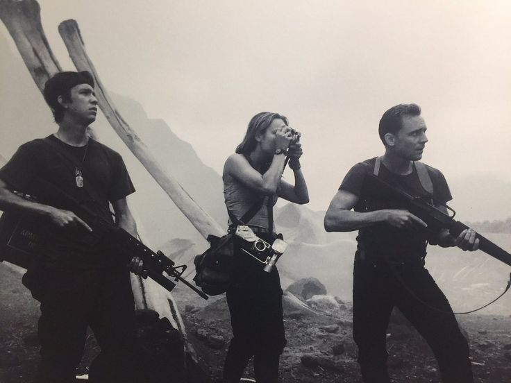 """""""Think I have two more shots of Tom Hiddleston from Kong: Skull Island . He tells me is looking forward to season 2 of Planet Earth series."""" https://twitter.com/saintbryan/status/833387080227004416"""