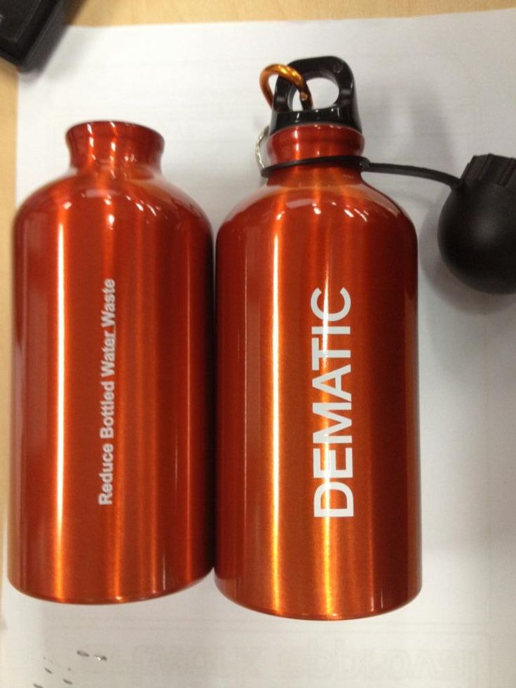 Branded drink bottles are great for staff and client gifts.  #brandedbottles